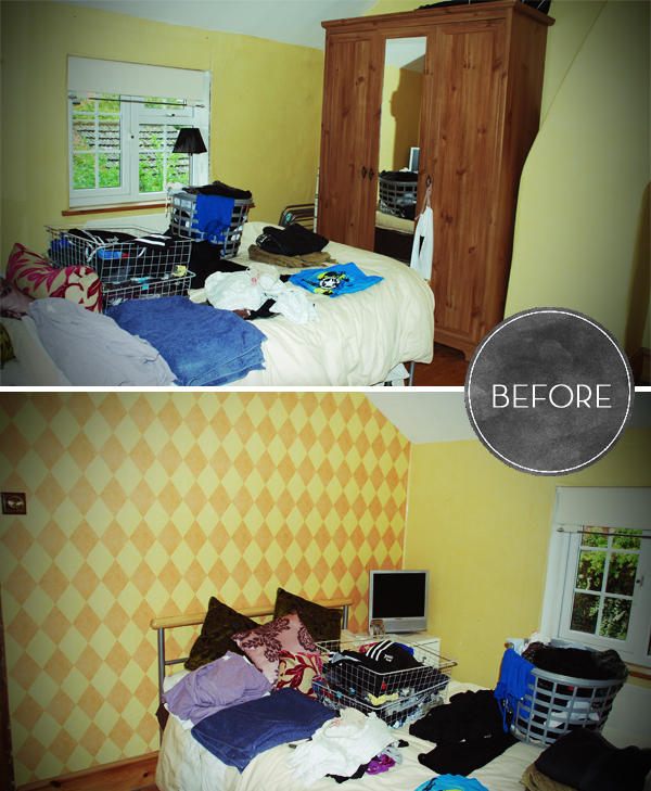 Before Spare Bedroom