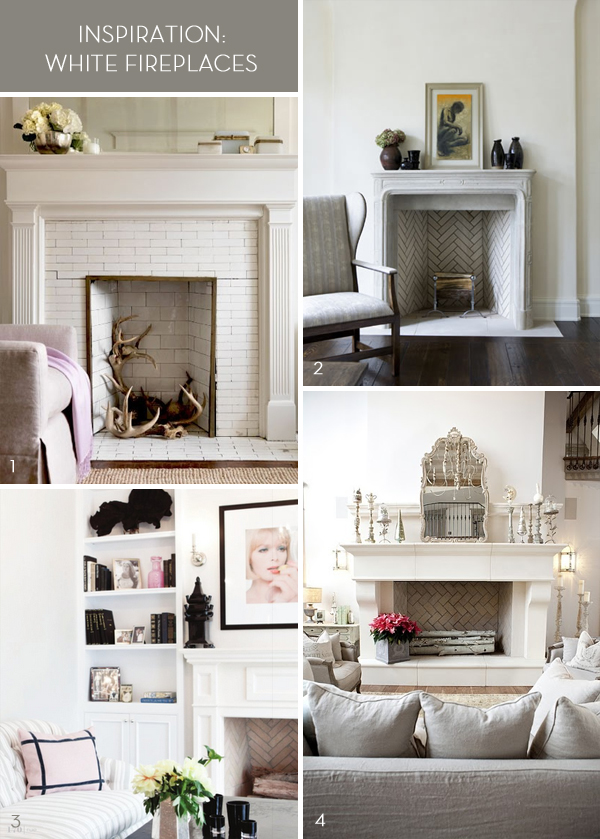 White_fireplaces