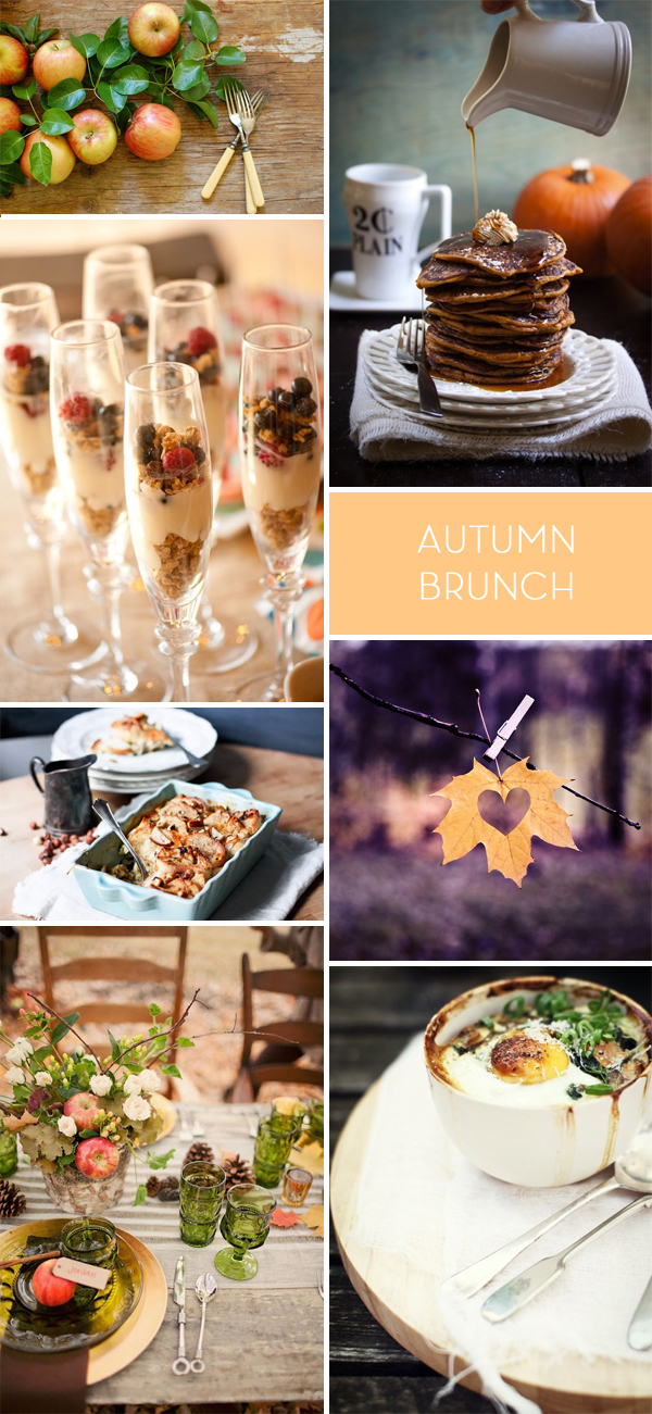 Autumn Brunch Inspiration Board