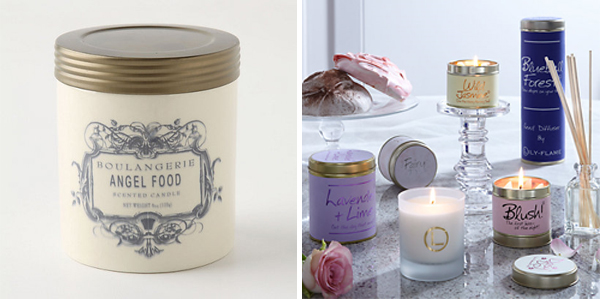 Anthropologie & LilyFlame Candles